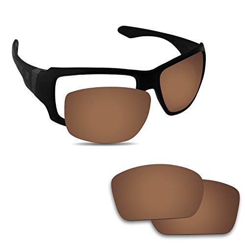 Fiskr Anti-Saltwater Replacement Lenses for Oakley Big Taco Sunglasses - Various - Taco Sunglasses