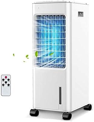 YZPLFS Enfriador de Aire sin aspas móvil, Ventilador eléctrico y ...