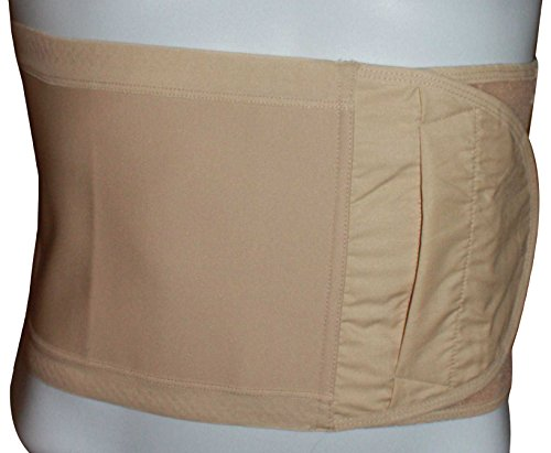 Safe n' Simple Hernia Support Belt, 26cm, Beige, X-Small by Safe n' Simple