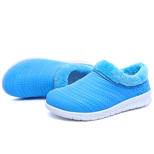 Dimensione fodera Stivali con impermeabili in pelliccia ZHRUI Blu Blu invernale foderata EU Colore 38 calda da donna OA1pAnW