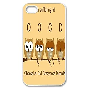 custom iphone4,iphone4s Case, OWL cell phone case for iphone4,iphone4s at Jipic (style 1) Kimberly Kurzendoerfer