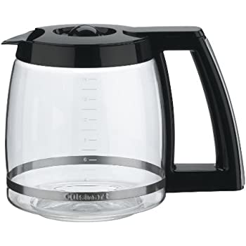 Cuisinart Coffee Maker Replacement Jug : Amazon.com: Cuisinart DCC-1200PRC 12-Cup Replacement Glass Carafe, Black: Kitchen & Dining