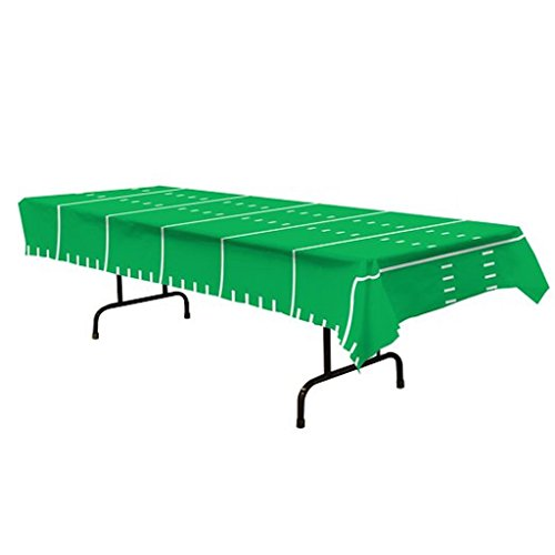 Beistle 2 Game DAY Football Party Tailgate Table Covers Tablecloths Plastic -