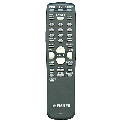 New Fisher FXPP Remote Control For TV, VCR, Cable Box for Many Models, including