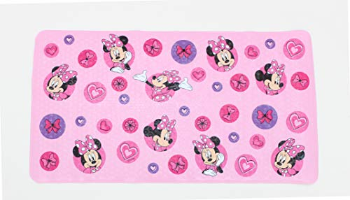 Disney Minnie Mouse Pink Bath Tub Mat - Kids Bath Mat by Ginsey (Image #1)