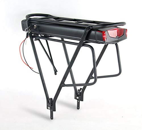 Joyisi 48V 10Ah Ebike Battery, li-ion Electric Bike Battery with Battery Holder and Taillight Review
