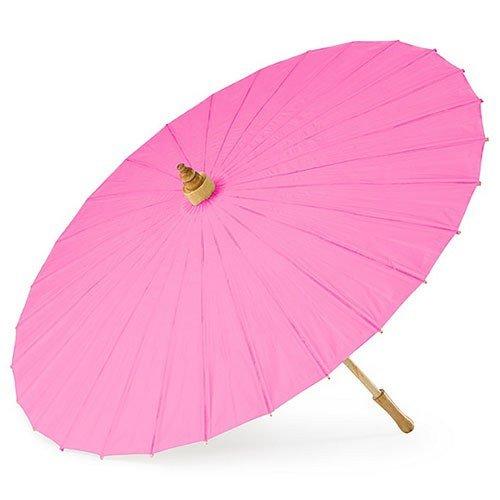 Weddingstar Paper Parasol, Fuchsia ()