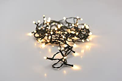 100-Light LED Warm White Battery Operated String Light