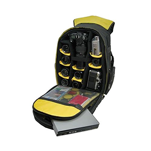 Ape Case, ACPRO2000, Large backpack, Laptop compartment, Padded, Rain cover included, Adjustable straps, Camera Backpack, Equipment bag, Black (ACPRO2000) by Ape Case (Image #6)