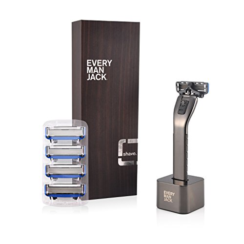 Every Man Jack Manual Razor, Black, 0.25 Ounce