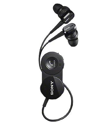 SONY DR-BT150NC-B Black | In-Ear Bluetooth Wireless Noise Canceling Headphones (Japanese Import)