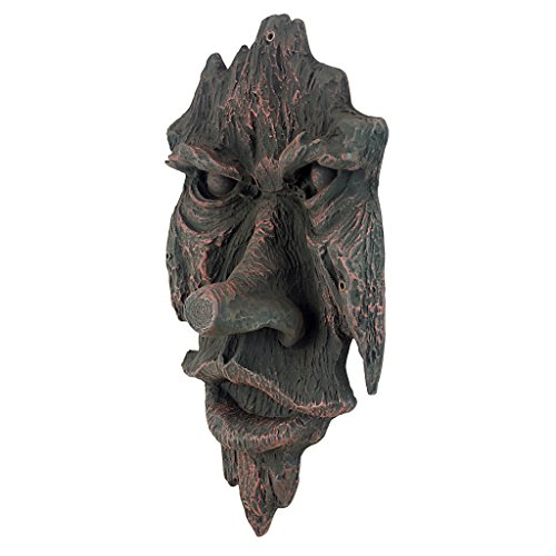 The Spirit of Nottingham Woods: Greenman Tree Sculpture Hanging Yard Art