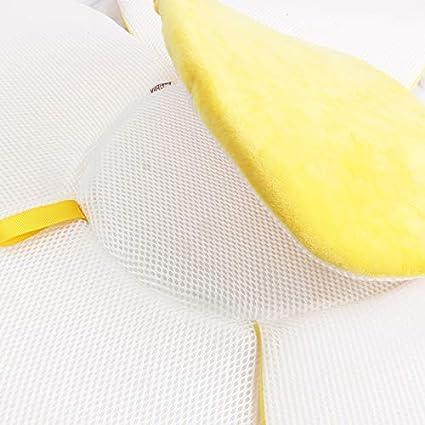 Blaward baby badewanne neugeborenes baby jungen m/ädchen faltbare weiche blume bl/ütenblatt form badewanne pad unterst/ützung kissen matte