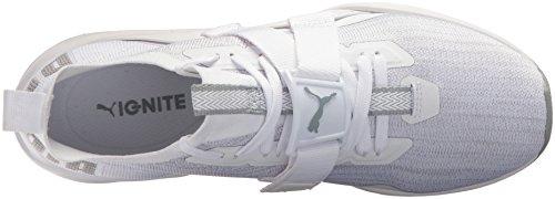 Puma Hommes Enflammer Evoknit Lo 2 Sneaker Puma Blanc-carrière