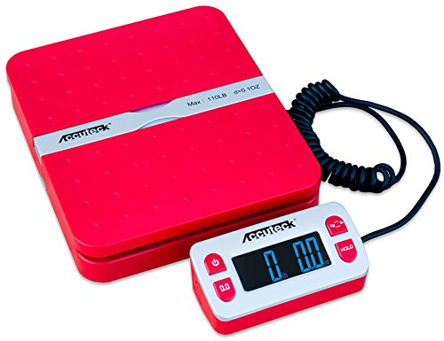 Accuteck-ShipPro-W-8580-110lbs-x-01-oz-Red-Digital-shipping-postal-scale-Limited-Edition