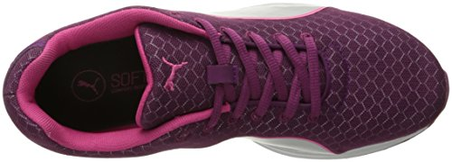 PUMA Womens Burst Metal Wns Running Shoe Magenta Purple/Puma Silver CWs3EuotZy