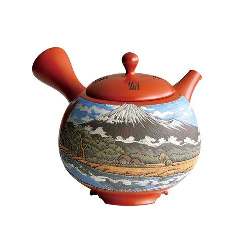 TOKYO MATCHA SELECTION - [Heritage/Limited] Tokoname Kyusu : Setsudo Yoshikawa- Mt.Fuji - Japanese Tea Pot [Standard ship by EMS: with Tracking & Insurance]