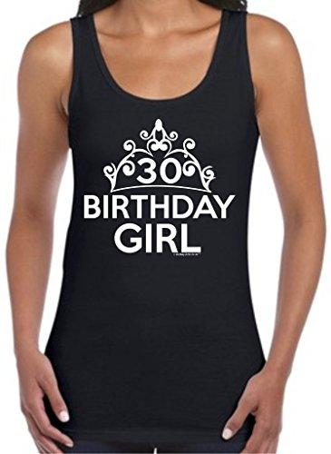 30th Birthday Gifts For All Birthday Girl Tiara Juniors Tank Top