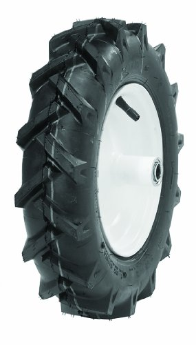 Tire 2 Tubeless Ply Tread (Oregon 58-050 480/400-8 Agricultural Lug Tread Tubeless Tire 2-Ply)