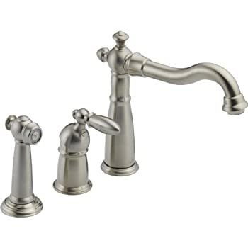 Delta Faucet Victorian Single Handle Kitchen Sink Faucet