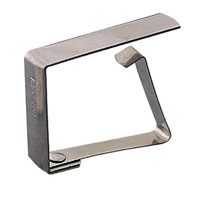 García de Pou Pinzas Sujeta Manteles 4,7 Cm Metal Acero (144 un.