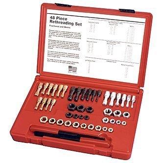 Craftsman 48 pc. SAE & Metric Thread Restorer Kit-42275