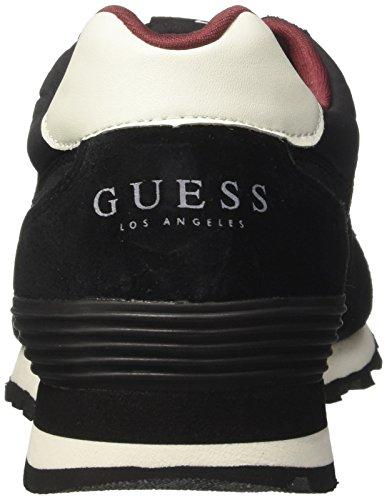 Active Negro para Man Hombre Guess Black Black Zapatillas d6RwTq