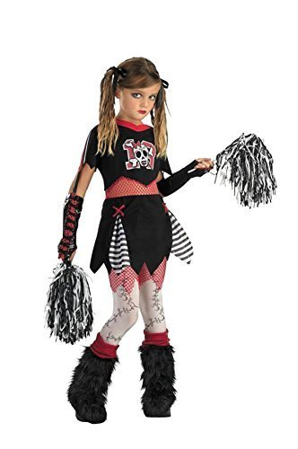 girls - Cheerless Leader Sz 7 To 8 Halloween Costume - Child 7-8 by Morris Costumes -