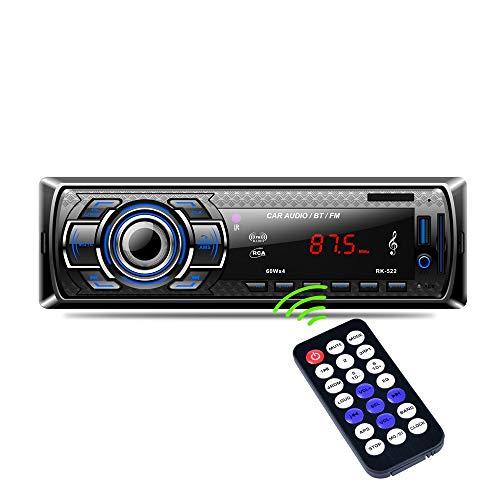 Car Radio, Arespark Car Bluetooth MP3 Player FM Stereo, Handsfree Audio Good Sound Effect, ISO Plug