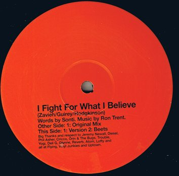 Ron Trent & Sonti - I Fight For What I Believe - SI Project ...