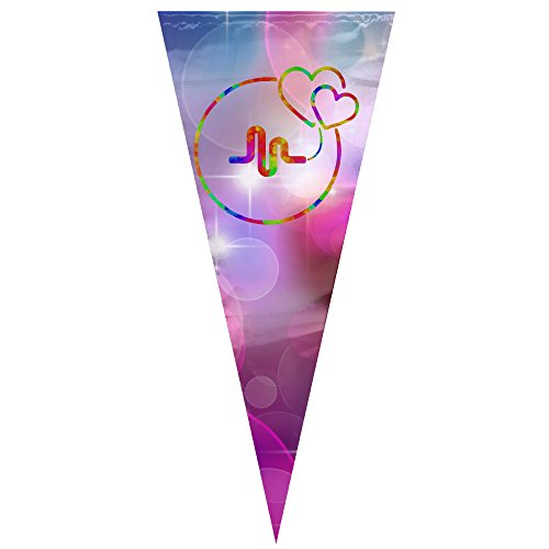 Indoor/Outdoor Pennant Banner - Musically Harmony Triangle Flag Ornament For Festival, Wedding, Birthday And Kids Party, 12 By (Fifth Harmony Birthdays)