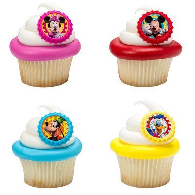 Mickey Mouse Clubhouse You Bethcha! Cupcake Rings -