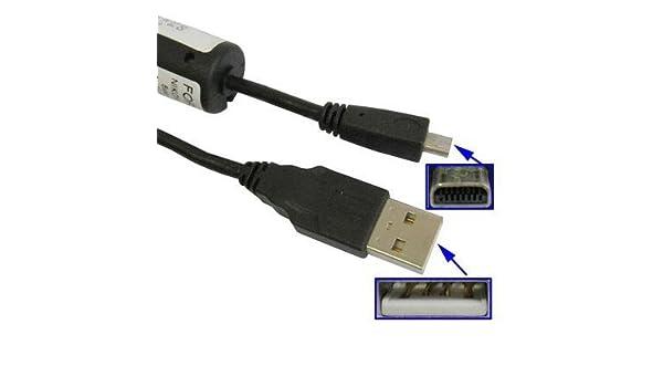 Cable de datos USB para cámara réflex digital Sony Alpha y ...