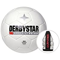 Derbystar Brillant TT Weiß Trainingsball 10er Ballpaket