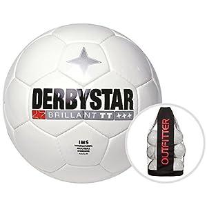 Derbystar Brillant TT Weiß Trainingsball 10er Ballpaket