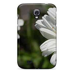 Fashion pc Case For Galaxy S4- A Daisies Beauty Defender Case Cover