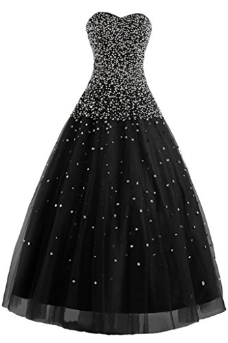 Prom Evening Gowns Dress Gown Quinceanera Black Ball Party Angel Dress Tulle Bride g40FnO