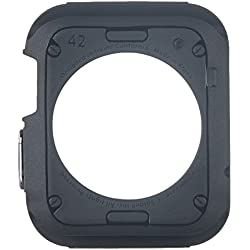 Custodia Apple Watch, (42mm) Spigen [Rugged Armor] Impressionante Black [Design Meccanica Durevole] Massima Protezione Da Cadute e Urti - Custodia Apple Watch 42mm, Cover Apple Watch (SGP11496)