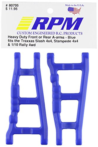 RPM 80705 Front/Rear A-Arms Blue Slash/Stampede 4x4 Blue