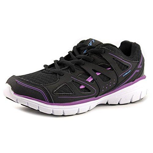 la-gear-refresh-women-us-6-black-running-shoe