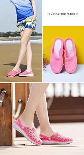 Jelly Slip Sandals Pink RESPEEDIME Shoes Summer Beach Female Crystal Non Slippers p1AESn0q