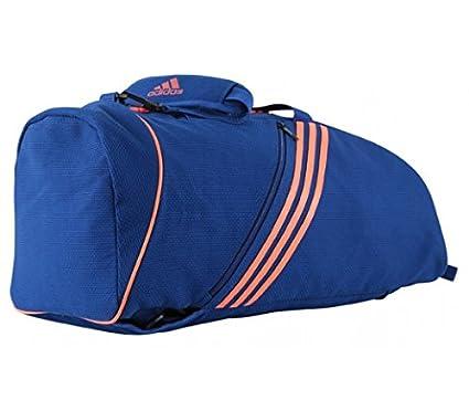 adidas Judogi 2 in 1 Sports Bag M black blue