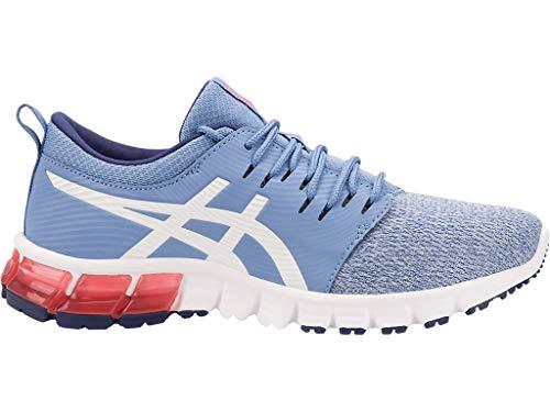 ASICS Women's Gel-Quantum 90 SG Running Shoes, 8.5M, Blue Harmony/White