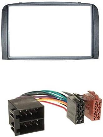 Pioneer 2din mp3 USB aux radio del coche para Alfa Romeo GT 147 00-10 antracita