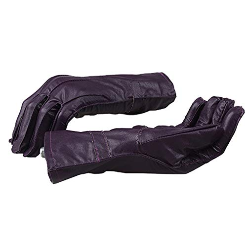 COMShow The Dark Knight Joker Costume Set Shirt Vest Tie Gloves Overcoat Suit Halloween Costume ()