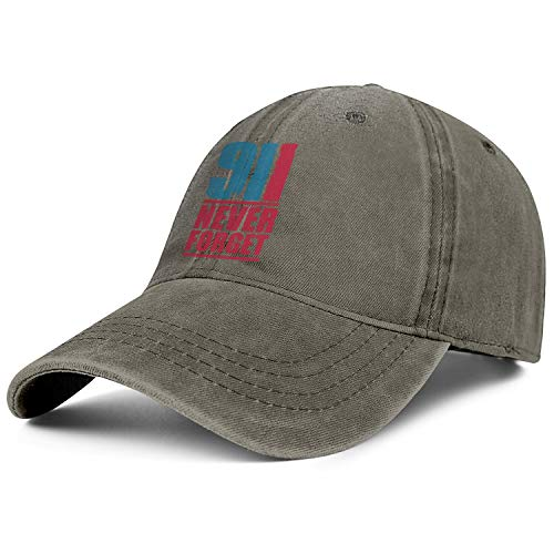 CCBING 911 Never Forget Unisex Baseball Cap Personalised Cricket Hats