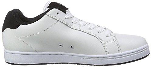 Etnies Fader Weiß Grau Schwarz Herren LederSkateSneakers Schuhe