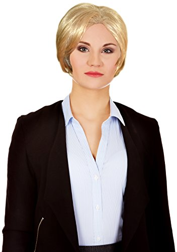 [KINREX Hillary Clinton Wig - Halloween Costume Wig - Party Costume Accesories] (Clinton Costume Party)
