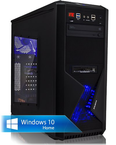 Ankermann Workstation Videobearbeitung PC Garanzia di 24 mesi, Intel i7-8700 6x3.2GHz GeForce GTX 1050 Ti OC 4GB 4K 32GB RAM 250GB SSD Samsung 3TB HDD Windows 10 PRO Ankermann-PC