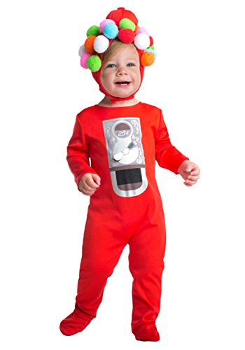 [LF Products Pte. Ltd dba Palamon International unisex-baby Infant Gumball Costume 12/18 Months] (Gumball Machine Costume For Kids)